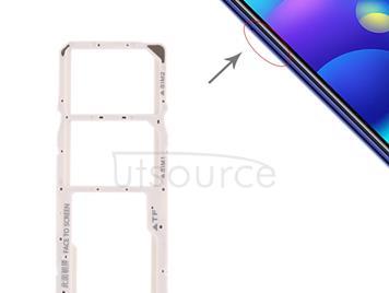 SIM Card Tray + SIM Card Tray + Micro SD Card Tray for Xiaomi Mi Play(Pink)