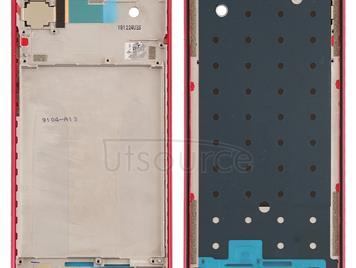 Middle Frame Bezel Plate for Xiaomi Redmi Note 7 / Redmi Note 7 Pro(Red)