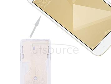 For Xiaomi Redmi 4X SIM & SIM / TF Card Tray(Silver)