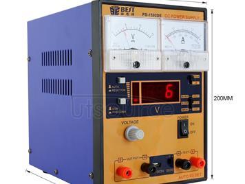 BEST BST-1502DE AC 220V Mobile Phone Repair Tool 15V 2A DC Regulated Power Supply