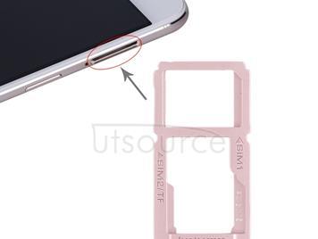 SIM Card Tray + SIM Card Tray / Micro SD Card Tray for OPPO R9sk(Rose Gold)