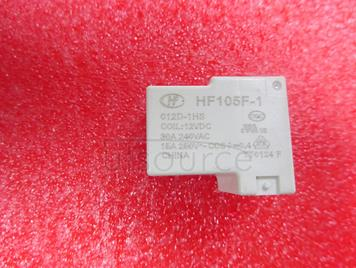 JQX-105F-1-012D-1HS replace HF105F-1-012D-1HS 12V 30A 4PINS