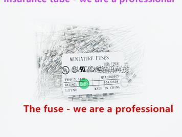 3.6 * 10 DIP tube fuse insurance F6.3AL250V 3.6 MM * 10 MM plug-in 6.3A 250V