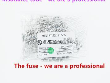 3.6 * 10 DIP tube fuse insurance F5AL250V 3.6 MM * 10 MM plug-in 5A 250V