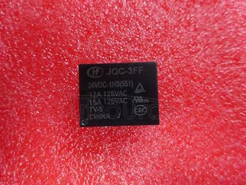 JQC-3FF-24VDC-1HS 24V 15A 4PINS