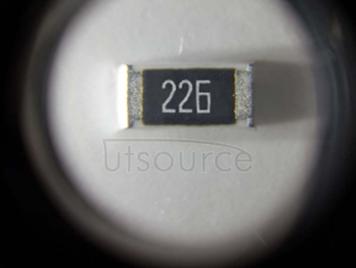 2512 Chip Resistor 22MΩ ±1% 1W