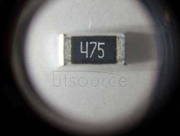 2512 Chip Resistor 4.7MΩ ±1% 1W