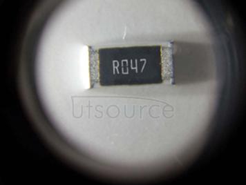 2010 Chip Resistor 0.047Ω(47mR) ±1% 3/4W