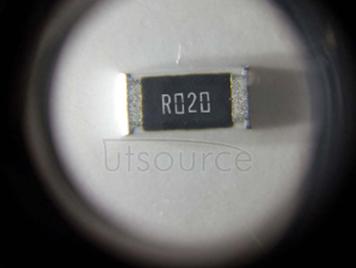 2010 Chip Resistor 0.02Ω(20mR) ±1% 3/4W