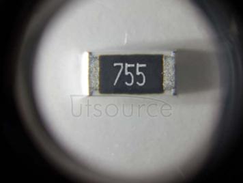 2010 Chip Resistor 7.5MΩ ±1% 3/4W
