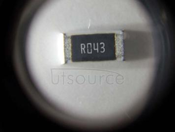 2010 Chip Resistor 0.043Ω(43mR) ±1% 3/4W