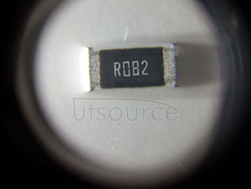 2010 Chip Resistor 0.082Ω(82mR) ±1% 3/4W