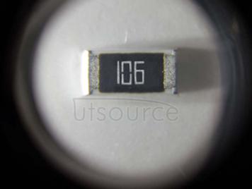 2010 Chip Resistor 10MΩ ±1% 3/4W