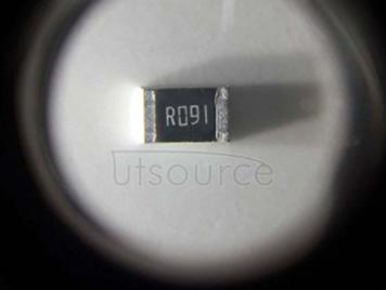 2010 Chip Resistor 0.091Ω(91mR) ±1% 3/4W
