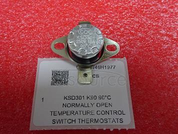 KSD301 K90 90°C Normally Open Temperature Control Switch Thermostats (5pcs)