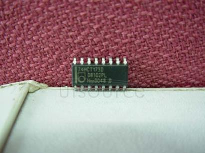 74HCT173D Quad D-Type Flip-Flop