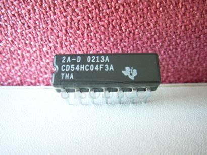 CD54HC04F3A LOGIC GATE HEX INVERTER HC-CMOS DIP 14PIN CERAMIC