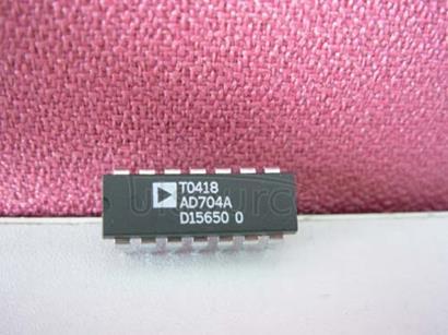 AD704AN Quad Picoampere Input Current Bipolar Op Amp