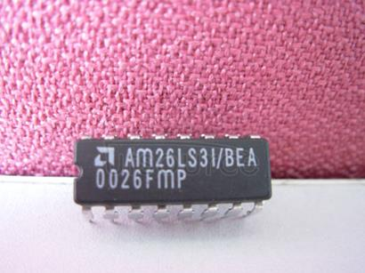 AM26LS31BEA 1.7MHz, Single Cell Micropower DC/DC Converter; Package: SO; No of Pins: 8; Temperature Range: 0°C to +70°C