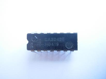 CA3042E Video   and   Wide-band   Amplifier