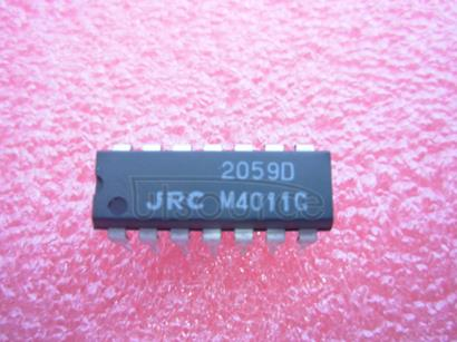 NJM2059D QUAD OPERATIONAL AMPLIFIER