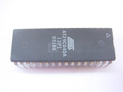 AT29C040A-12PI 4-Megabit 512K x 8 5-volt Only 256-Byte Sector CMOS Flash Memory