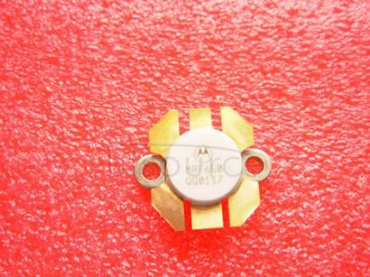 MRF650 RF POWER TRANSISTOR NPN SILICON