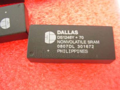 1PCS DS1248Y-70 Encapsulation:DIP-32,1024k NV SRAM with Phantom Clock