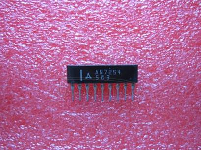 AN7254 FM FRONT-END CIRCUIT FOR CAR RADIO