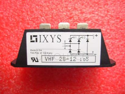 VHF28-12I05 Half   Controlled   Single   Phase   Rectifier   Bridge   with   Freewheeling   Diode