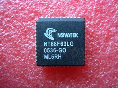 NT68F63LG 8-Bit Microcontroller for Monitor 32K Flash MTP Type