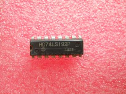 74LS192P 4-Bit Bidirectional Universal Shift Register