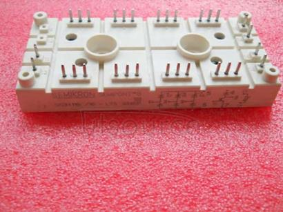 SKDH116/16-L75 3-Phase Bridge Rectifier + IGBT braking chopper