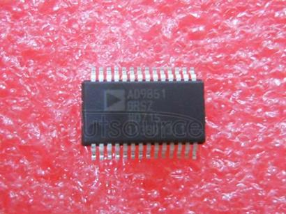 AD9851BRSZ 180 MHz Complete DDS synthesizer