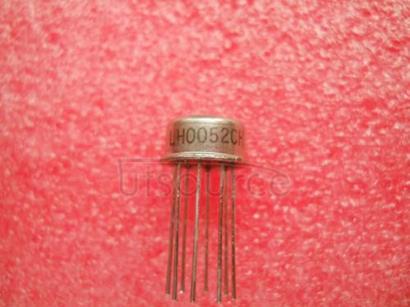 LH0052CH Voltage-Feedback Operational Amplifier