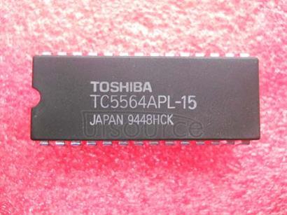 TC5564APL-15 8,192 WORD X 8 BIT CMOS STATIC RAM