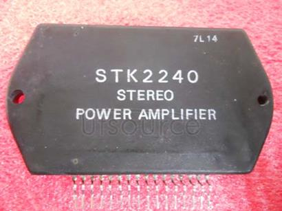STK2240 2CH   PURE   COMPLEMENTARY   D.P.P.   SERIES