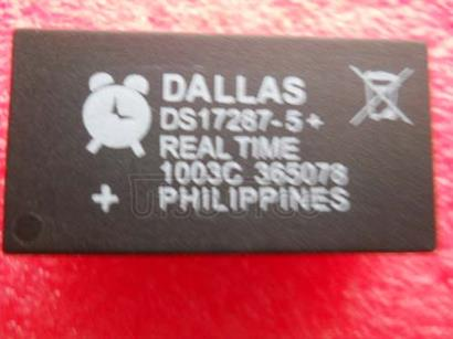 DS17287-5 3V/5V Real-Time Clock