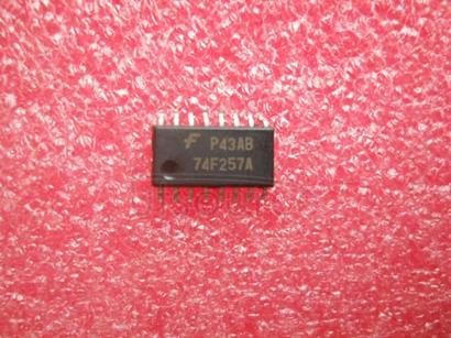 74F257 Quad 2-Input Multiplexer with 3-STATE Outputs
