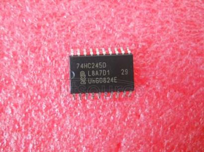 74HC245 Octal bus transceiver<br/> 3-state