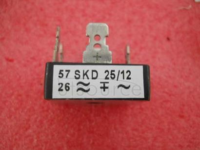 SKD25/12 Power Bridge Rectifiers