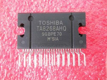TA8268AHQ Max   Power  40 W  BTL  ×  4CH   Audio   Power  IC