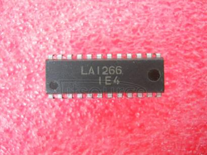 LA1266 FM/AM System of Electronic Tuning TypeFM/AM
