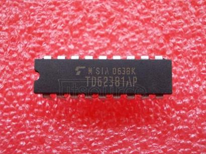 TD62381AP 8CH LOW INPUT ACTIVE DARLINGTON SINK DRIVER