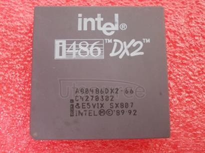 A80486DX266 High-performance, clock-selectable, 3.3 V, 32-Bit microprocessor