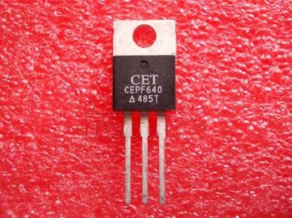 CEPF640 N-Channel Enhancement Mode Field Effect Transistor