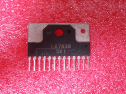 LA7838 Vertical Deflection Circuit with TV/CRT Display Driver(/CRT)