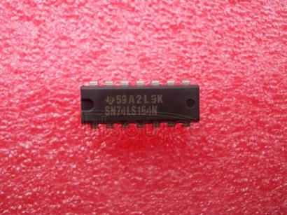 SN74LS164N 8-BIT PARALLEL-OUT SERIAL SHIFT REGISTERS