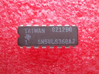 SN54LS368AJ Quad 2-Input NAND Gate<br/> Package: PDIP-14<br/> No of Pins: 14<br/> Container: Rail<br/> Qty per Container: 500