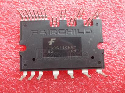 FSBS15CH60 15A, Smart Power Module<br/> Package: SPM27-BA<br/> No of Pins: 27<br/> Container: Rail